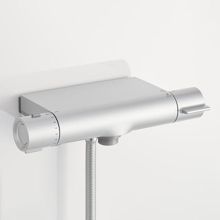 クランクレス水栓(メタル調マット)