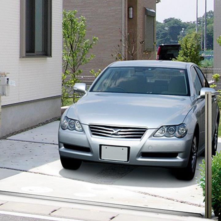 駐車スペースの拡張