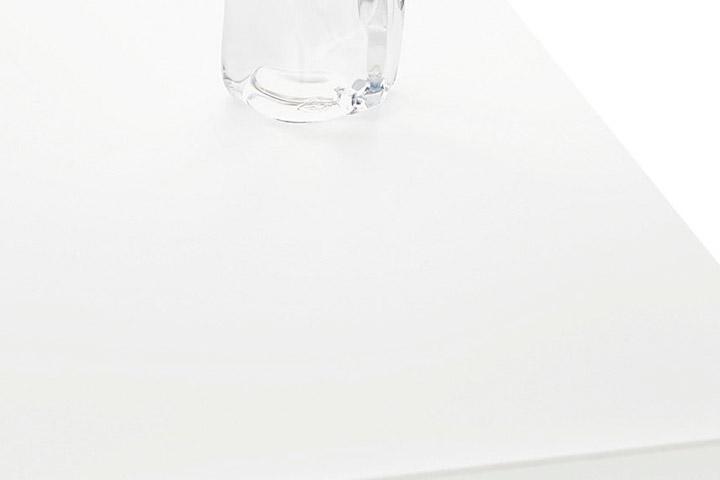 人造大理石トップ/シュガーホワイト