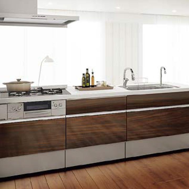 シエラ オープン対面キッチン センターペニンシュラI型